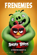 Angry Birds Movie 2 Frenemies Poster 05