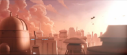 Cloud City in trailer