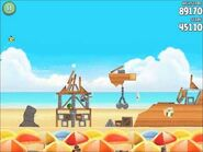 Official Angry Birds Rio Walkthrough Beach Volley 5-3