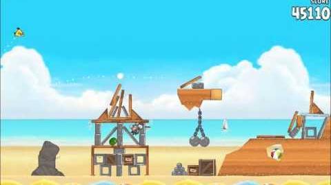 Official Angry Birds Rio Walkthrough Beach Volley 5-3