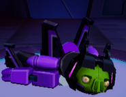 Skywarp Defeated