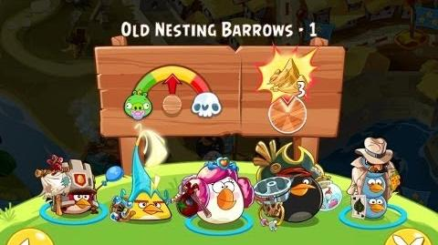 Angry Birds Epic Old Nesting Barrows Level 1 Walkthrough