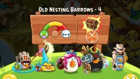 Angry Birds Epic Old Nesting Barrows Level 4 Walkthrough