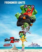 Angry Birds Movie 2 Frememies Unite Poster