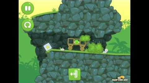 Bad Piggies Ground Hog Day 1-5 Walkthrough 3 Star