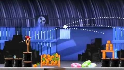 Official Angry Birds Rio Walkthrough Smuggler's Den 1-7