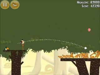 Official Angry Birds Walkthrough Danger Above 6-14