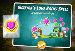 Shakiras Love Rocks Spell