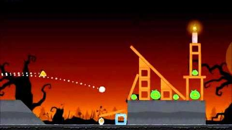 Official Angry Birds Seasons Walkthrough Trick or Treat 2-13