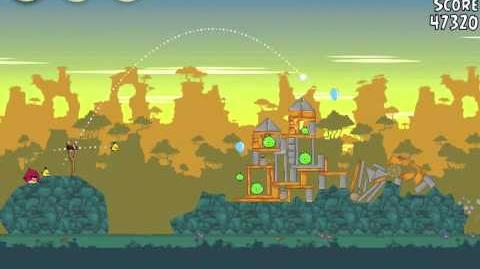 Angry Birds 22-14 Bad Piggies 3 Star Walkthrough (Angry Birds Classic 22-14)