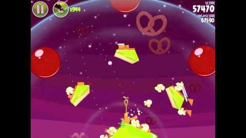 Angry Birds Space Utopia 4-4 Walkthrough 3-Star