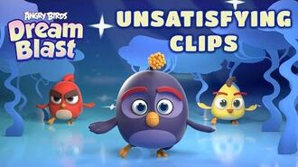 Angry Birds Dream Blast Unsatisfying Clips!