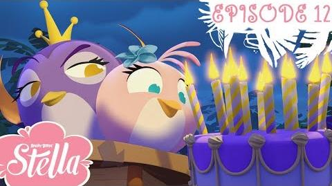 Angry Birds Stella Don't Steal My Birthday! S1 Ep12