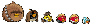 Angry Birds Star Wars Corpses