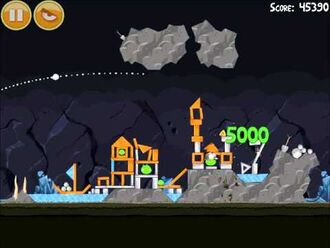 Official Angry Birds Walkthrough Mine and Dine 15-6