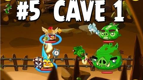 Updated Angry Birds Epic Cave 1 Shaking Hall Level 5 Walkthrough