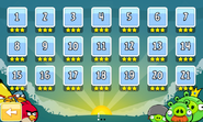 Angry Birds - уровни