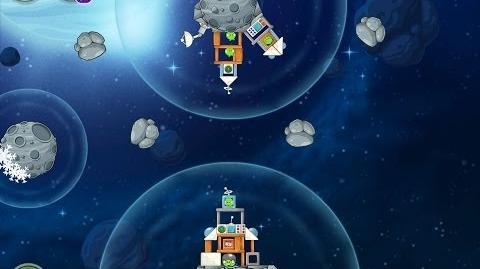 Angry Birds Space Beak Impact 8-30 Walkthrough 3 Star