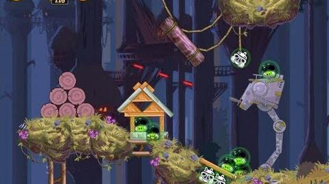 Moon of Endor 5-5 (Angry Birds Star Wars)/Video Walkthrough
