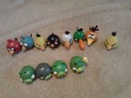 Фигурки из русских Яиц Angry Birds