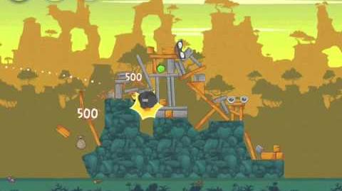 Angry Birds 22-8 Bad Piggies 3 Star Walkthrough (Angry Birds Classic 22-8)