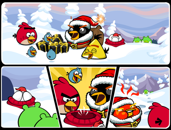 Image - Angry Birds FB Christmas Week Pic 3.png | Angry Birds Wiki ...