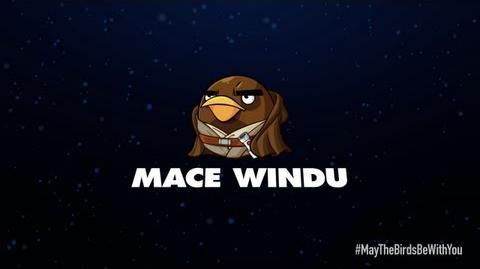 Angry Birds Star Wars 2 character reveals Mace Windu
