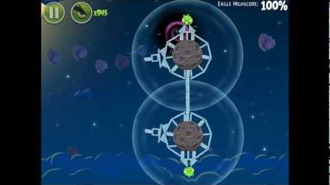 Angry Birds Space Pig Bang 1-10 Space Eagle Walkthrough
