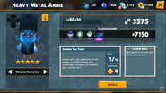 Heavy Metal Annie 2 Evolution Superhero Abilities