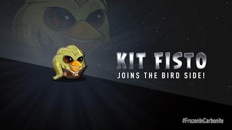 NEW! Angry Birds Star Wars 2 Carbonite Pack character reveals Kit Fisto