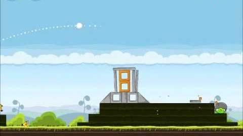 Official Angry Birds Walkthrough Mighty Hoax 4-21