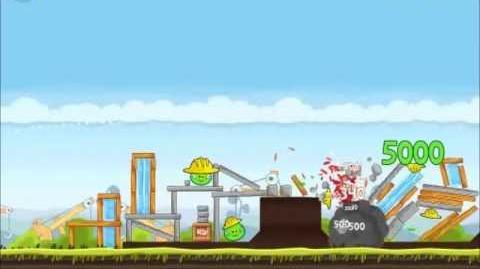 Official Angry Birds Walkthrough The Big Setup 10-5