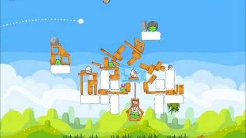 Official Angry Birds Seasons Walkthrough Easter Eggs 1-18