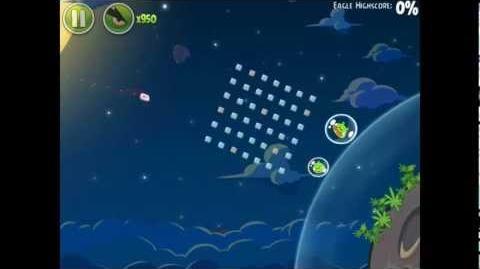 Angry Birds Space Pig Bang 1-9 Space Eagle Walkthrough