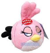 Angry birds pink bird plush