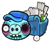 Postman Pig Zombie