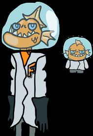 Рыбка-пыпка