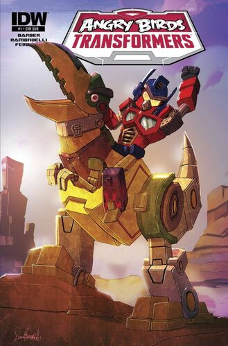 Angry Birds Transformers Issue 1 Angry Birds Wiki