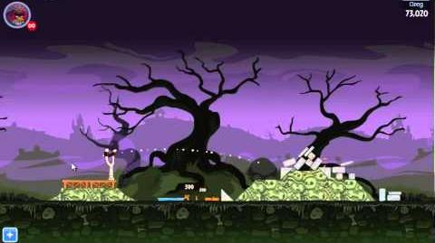 Angry Birds Friends Halloween Tournament Level 1 Day 1 Week 24 - October 29th 2012 - Facebook