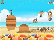 Official Angry Birds Rio Walkthrough Beach Volley 6-13