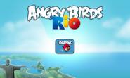 Angru Birds Rio - экран загрузки
