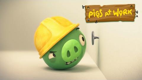 """Piggy Tales Pigs at Work - """"Nailed It!"""""""