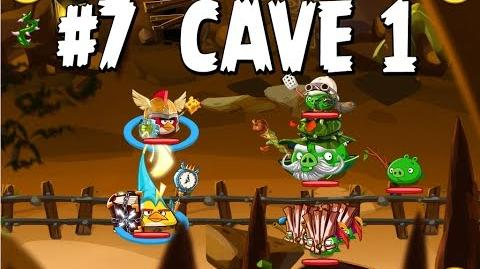 Updated Angry Birds Epic Cave 1 Shaking Hall Level 7 Walkthrough