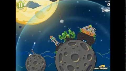 Angry Birds Space S-2 Pig Bang Bonus Level Walkthrough
