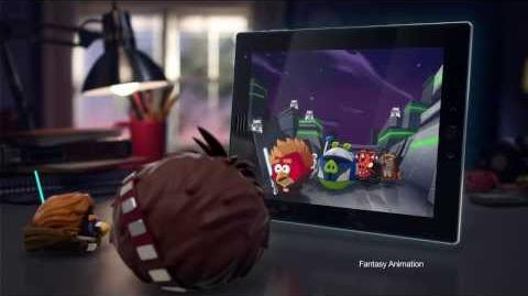 Angry Birds Star Wars 2 Telepods Commercial ft