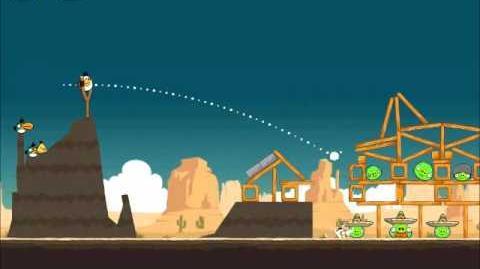 Official Angry Birds Walkthrough Ham 'Em High 14-10