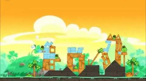 Official Angry Birds Seasons Walkthrough Go Green, Get Lucky 1-6