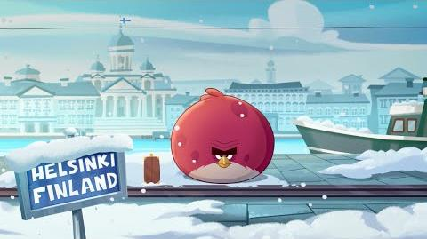 Angry Birds Seasons On Finn Ice – Terence flies north for the holidays!