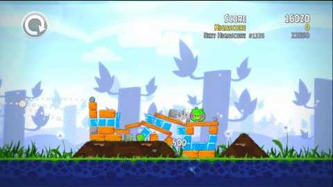 Gameplay Angry Birds Trilogy - Kinect Test Fail Xbox 360