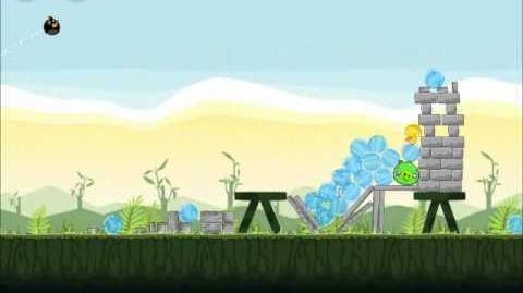 Official Angry Birds Walkthrough Poached Eggs 2-11